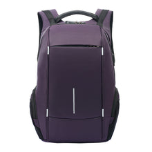 Load image into Gallery viewer, Modish  Waterproof Backpack with USB and Headset Ports,Laptop Pocket and Anti Theft Lock
