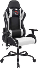 Load image into Gallery viewer, HLC-3312 Computer Chair with Massage Pillow Metal Base