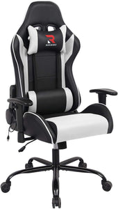 HLC-3312 Computer Chair with Massage Pillow Metal Base