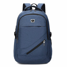 "Load image into Gallery viewer, New Design Large Capacity up to 17""Laptop Pocket,Waterproof School   Backpack with USB Port"
