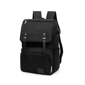 Fashionable Backpack for Diapers with USB Port,Waterproof