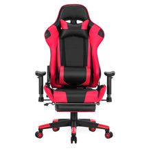 Load image into Gallery viewer, 8204 High Quality  Gaming Chair  with a Massaging  Pillow and Foot Rest