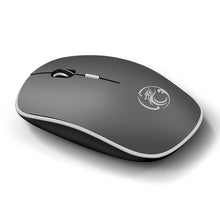 Load image into Gallery viewer, 1600DPI 2.4G Wireless Ultra-thin 4 Button Mute Mouse Business Office Mouse