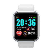 Load image into Gallery viewer, D20 Smart Watch Men Women Smartwatch Blood Pressure Monitor Waterproof Smart Watches Heart Rate Tracker Clock For Android IOS