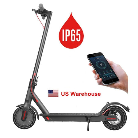 iEZway 2020 New Electric Scooter Foldable with 2 Wheels IP-65 Waterproof