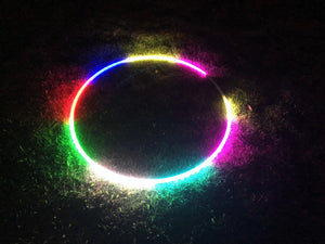 "37""-80 LED Lights 300 programs Professional Smart Hoop. Fully Rechargeable + Remote Control"