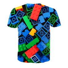 Load image into Gallery viewer, 3D Printed LEGO TEE BLUE