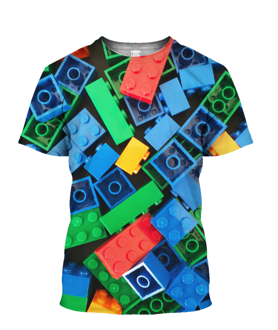 3D Printed LEGO TEE BLUE