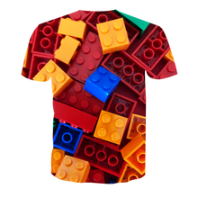 Load image into Gallery viewer, 3D Printed LEGO TEE RED