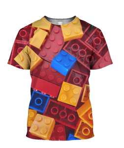3D Printed LEGO TEE RED