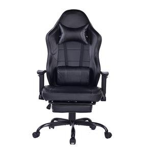 8332 High Quality  Gaming Chair Metal Base with a Massaging Lumbar Pillow