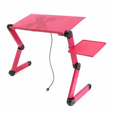 Load image into Gallery viewer, Portable Adjustable Foldable Laptop Notebook PC Desk Table Vented Stand Bed Tray