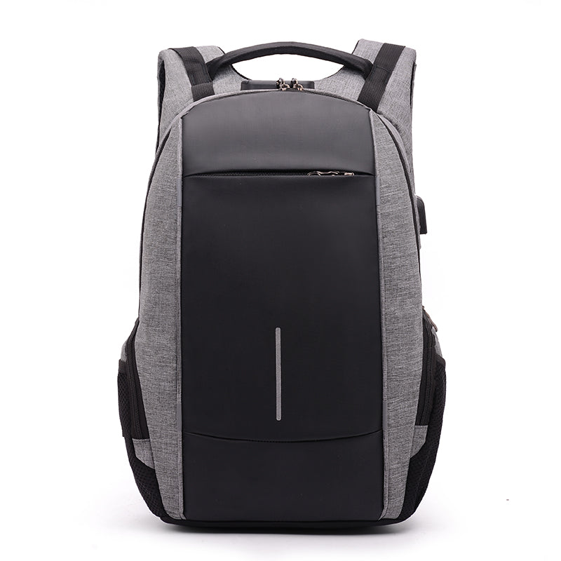 Modish  Waterproof Backpack with USB and Headset Ports,Laptop Pocket and Anti Theft Lock