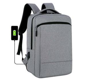 Stylish High Quality with USB Port for  Business Travel or School expandable backpack with Laptop Compartment