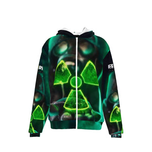 All-Over Print Unisex Heavy Fleece Zip Up Hoodie