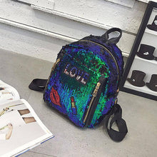 Load image into Gallery viewer, Charming  Festivals Color Changing Shinning Sequined Women Backpack
