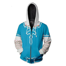Load image into Gallery viewer, Girls Anime Hero 3D Zip Up Hoodie