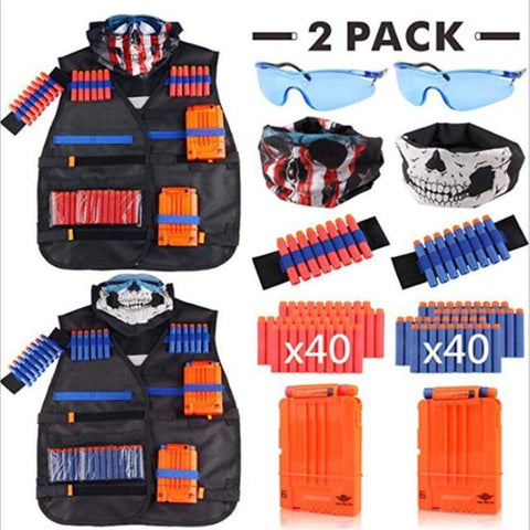 Two Vests Set for Nerf Gun