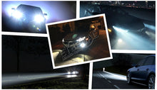 Load image into Gallery viewer, LED Headlight Bulb  Pair for Car, Motorcycle,Truck Color Temperature: 6000 K Blue Light.