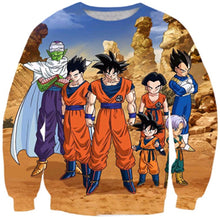 Load image into Gallery viewer, Sweatshirts Dragon Ball Z 3D . Vintage style