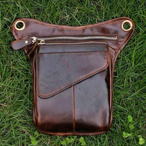 211-3-g Real Leather Drop Leg Bag 211-3-g
