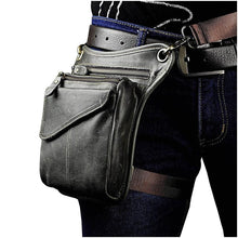 Load image into Gallery viewer, 211-3-g Real Leather Drop Leg Bag 211-3-g