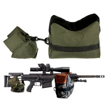 Load image into Gallery viewer, Tactical Shooting Rest Support Sandbag Rifle Front Rear Stand Bag
