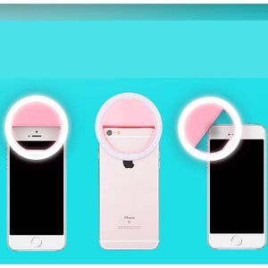 Portable Flash Led Camera  for Smartphone iPhone 7 plus 7 6s 6 5s 5 4s 4 Samsung Galaxy