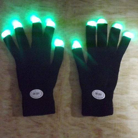 7 Mode LED Gloves