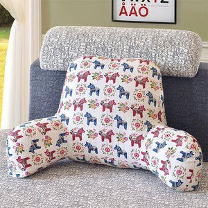 Cushion For Bed Back Support Include Pillow Core Washable