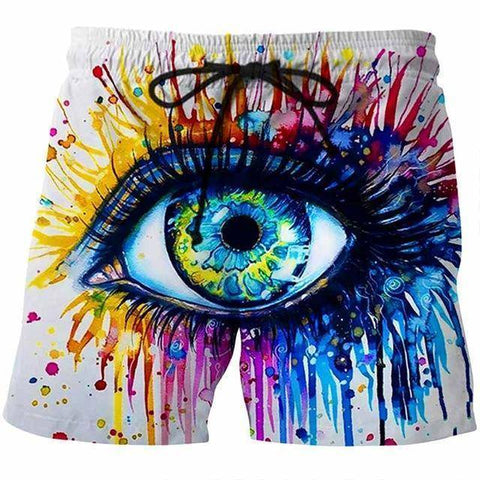 Image of 3D EYE SHORTS