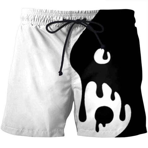 Image of YING YANG SHORTS