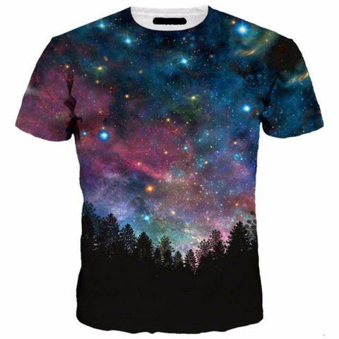Image of GALAXY STARS TEE
