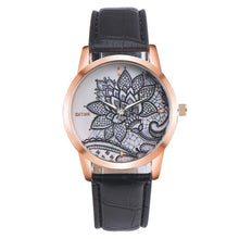 Load image into Gallery viewer, Women Fashion Leather Band Watch