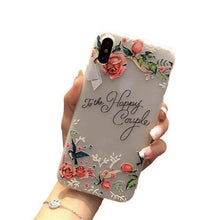 Load image into Gallery viewer, Flower Emboss iPhone Case