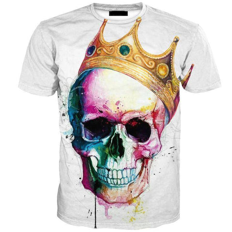Image of SKULL CROWN TEE
