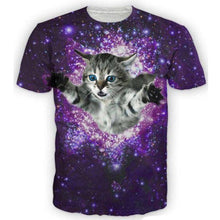 Load image into Gallery viewer, SPACE CAT TEE