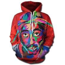 Load image into Gallery viewer, TUPAC HIPSTER HOODIE
