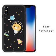Load image into Gallery viewer, Space Cartoon iPhone X Case