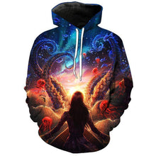 Load image into Gallery viewer, 3D OCTO UNISEX HOODIE