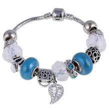 Load image into Gallery viewer, Charm Silver Plated Bracelets & Bangles