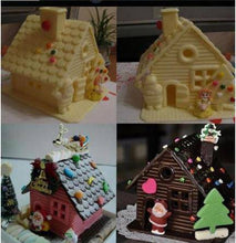 Load image into Gallery viewer, Cake Chocolate Christmas House