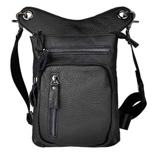 21111d Real Leather  Drop Leg Bag ,Tablet Case
