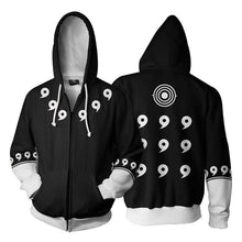 Load image into Gallery viewer, 3D Zip Up Hoodie Anime Naruto Unisex
