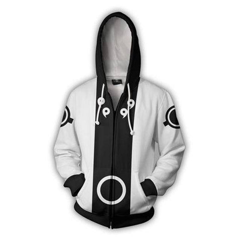 Image of 3D Zip Up Hoodie Anime Naruto Unisex