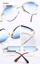 Load image into Gallery viewer, New Rimless Sunglasses Drops Style  uv400