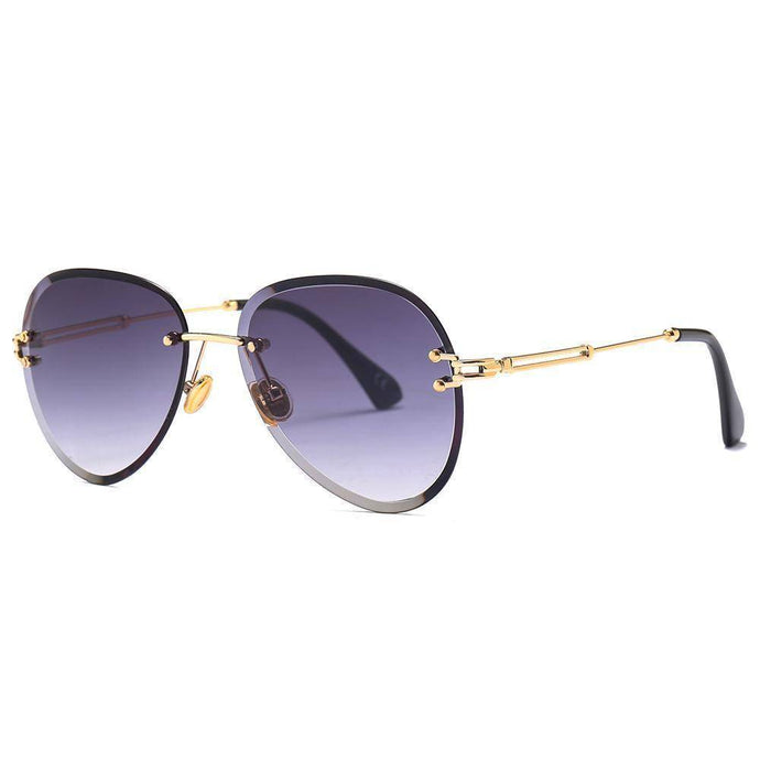 New Rimless Sunglasses Drops Style  uv400