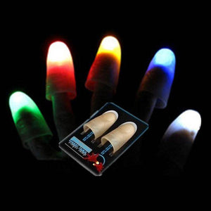 LED Light Magic Trick Finger