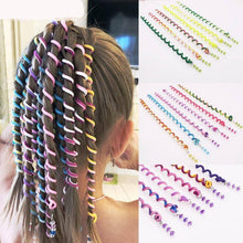 Load image into Gallery viewer, 6PCS/lot  Long Elastic Hair Bands