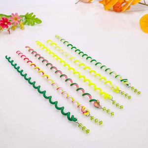 6PCS/lot  Long Elastic Hair Bands